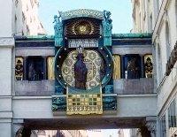 Танцующие часы Вена