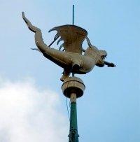 Флюгер в виде дракона Бельгия