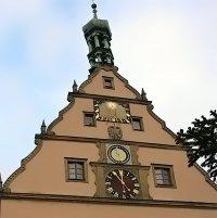 Башенные часы Германия