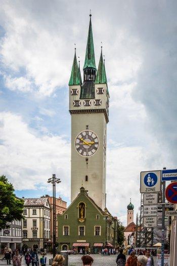 Часовая башня в Штраубинге