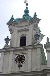 Часы на ратуше в Гродно