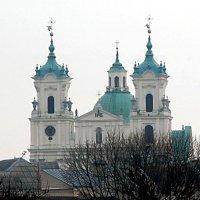 Башенные часы в городе Гродно