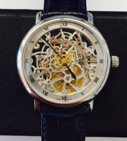 Часы скелетон Швейцария