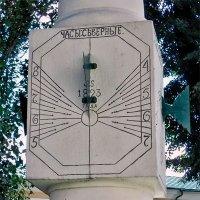 Старейшие солнечные часы в Киеве
