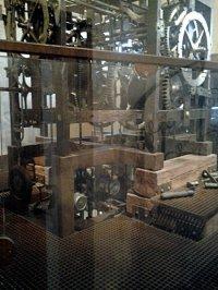 Механизм башенных часов в Венеции