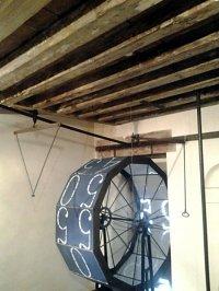 Механизм часов на башне