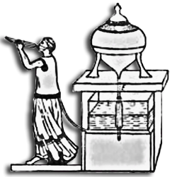 Часы греческого философа Платона
