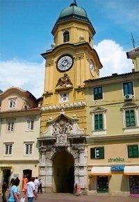 Хорватия старинная башня