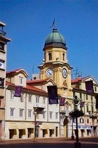 Достопримечательность Хорватии старинная башня