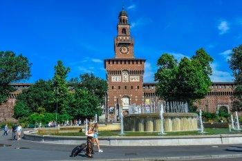 Башенные часы Италия