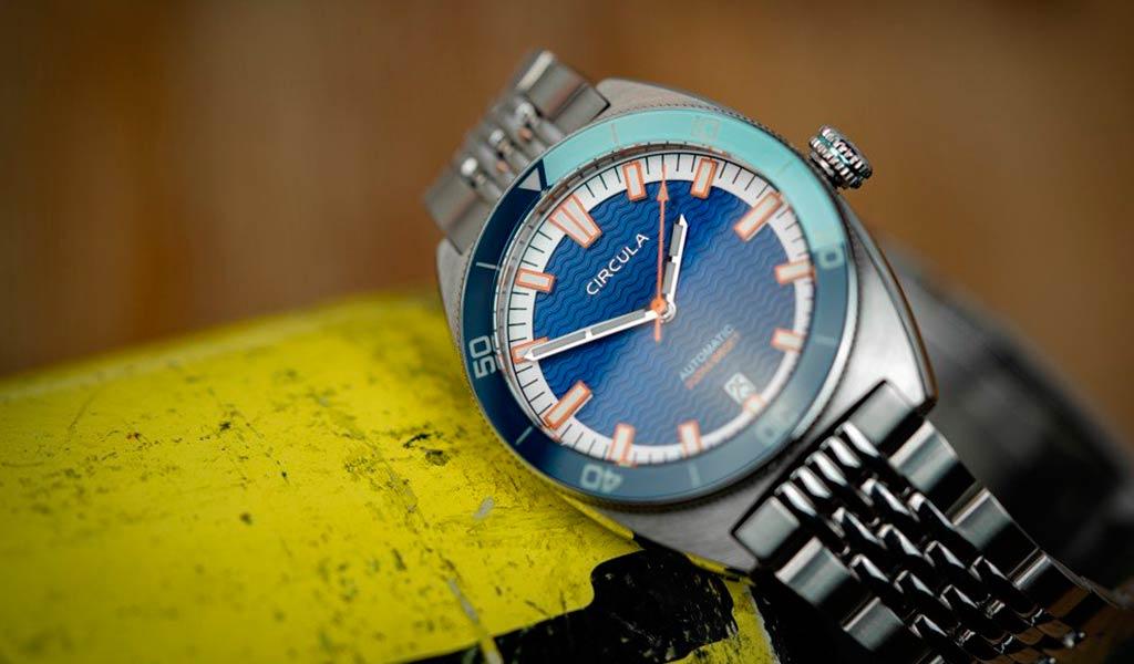 Механические часы для дайвинга Circula AquaDive