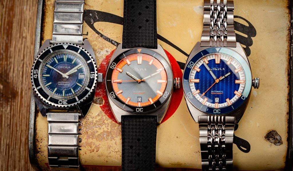 Немецкие наручные часы Circula AquaDive