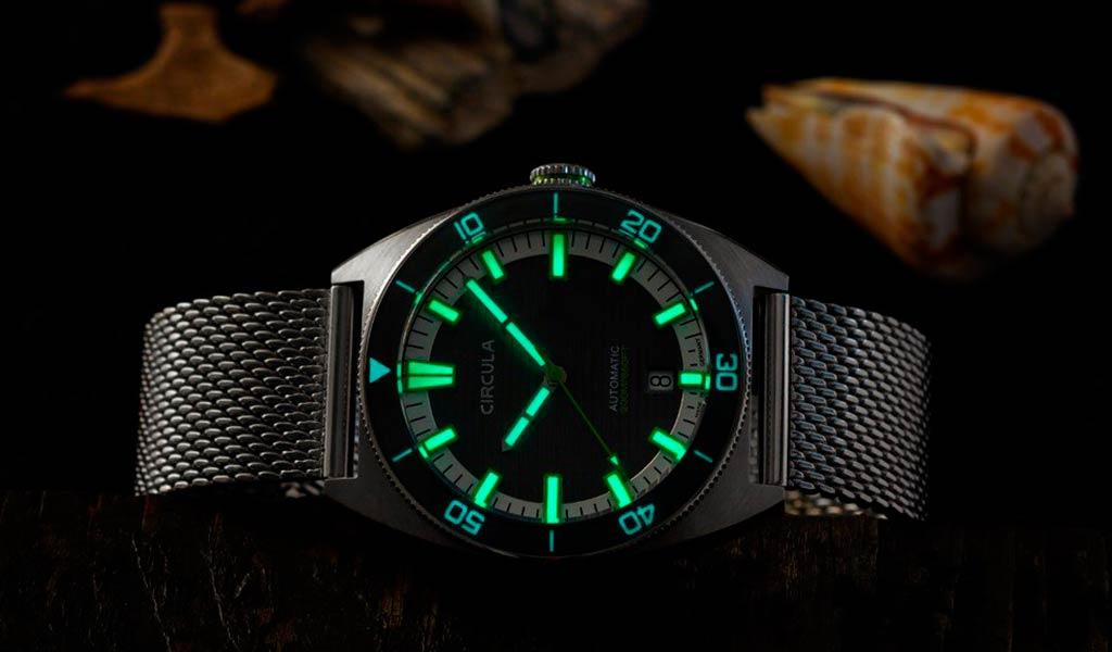 Дайверские часы Circula AquaDive