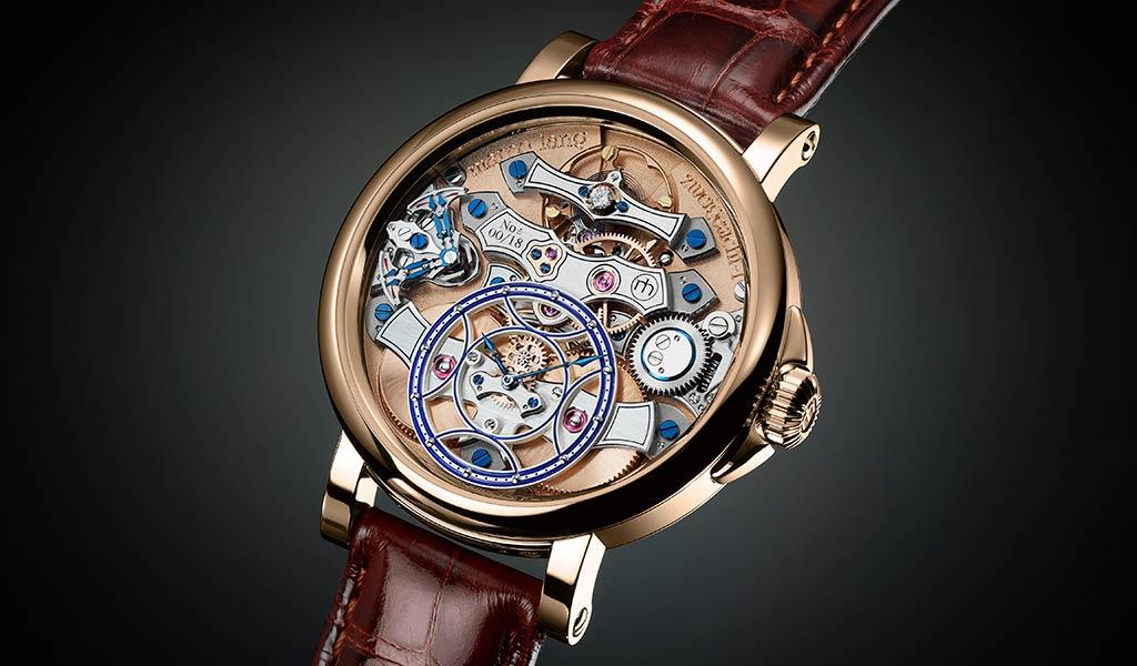 Немецкие механические часы Zweigesicht-1