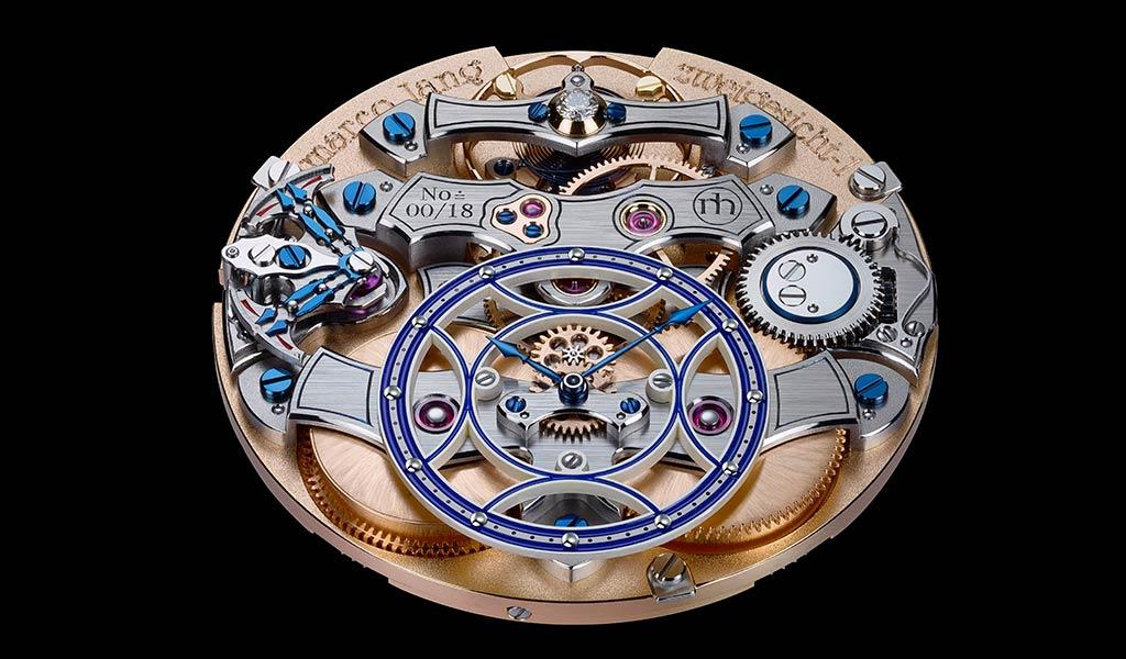 Часовой механизм Zweigesicht-1