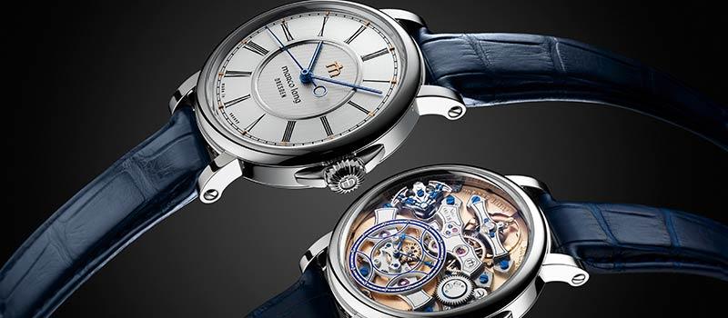 Немецкие наручные часы Marco Lang Zweigesicht-1 с двухсторонней индикацией времени
