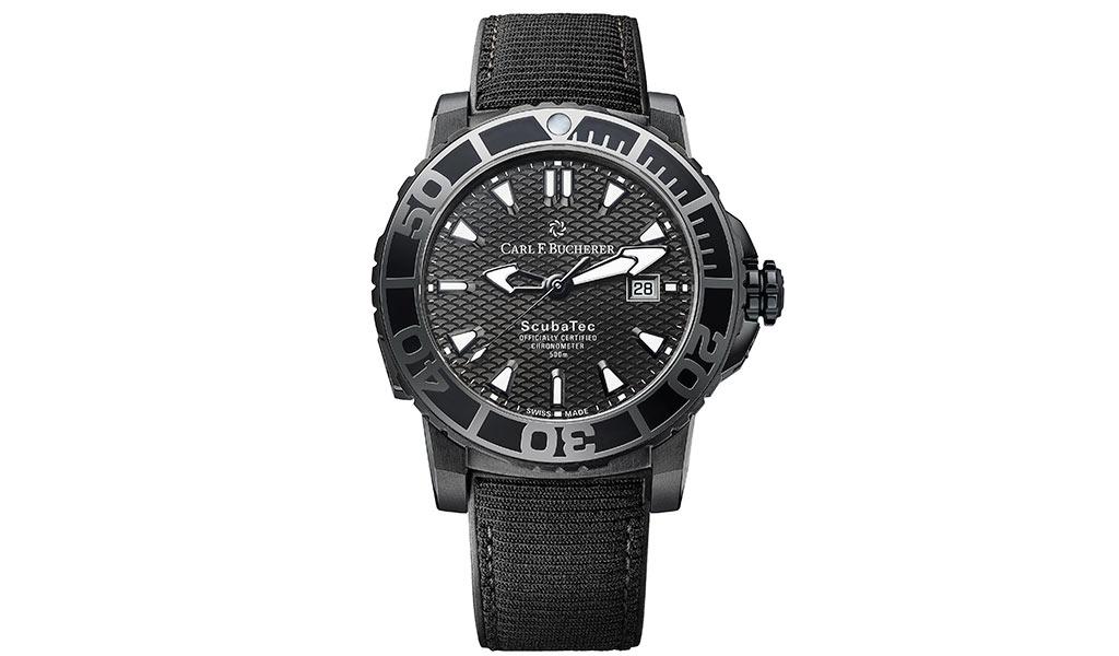 Дайверские часы Patravi ScubaTec Black