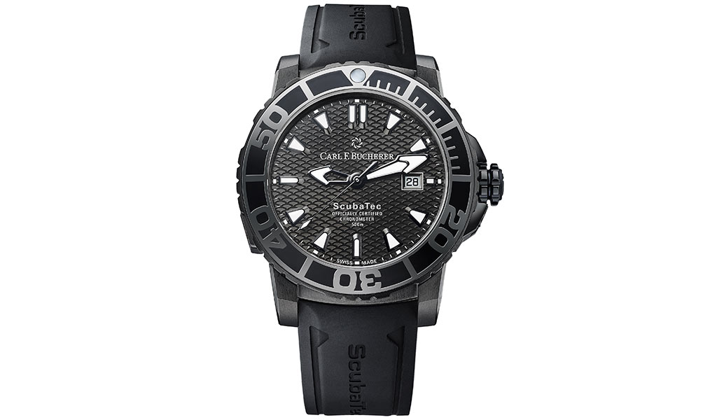 Часы для дайвинга Patravi ScubaTec Black