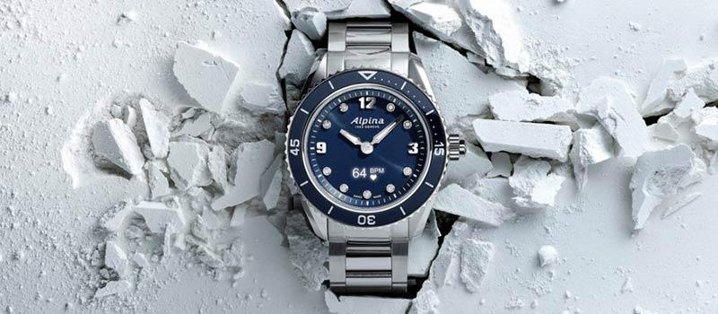 Умные наручные часы AlpinerX Comtesse Glacier