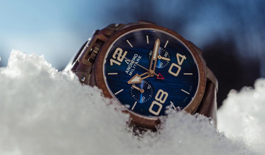 Наручные часы Anonimo Militare Chrono Oxidized Bronze