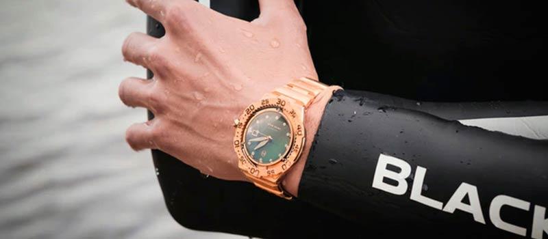 Ультратонкие дайверские механические часы Trident Automatic от компании NOVE