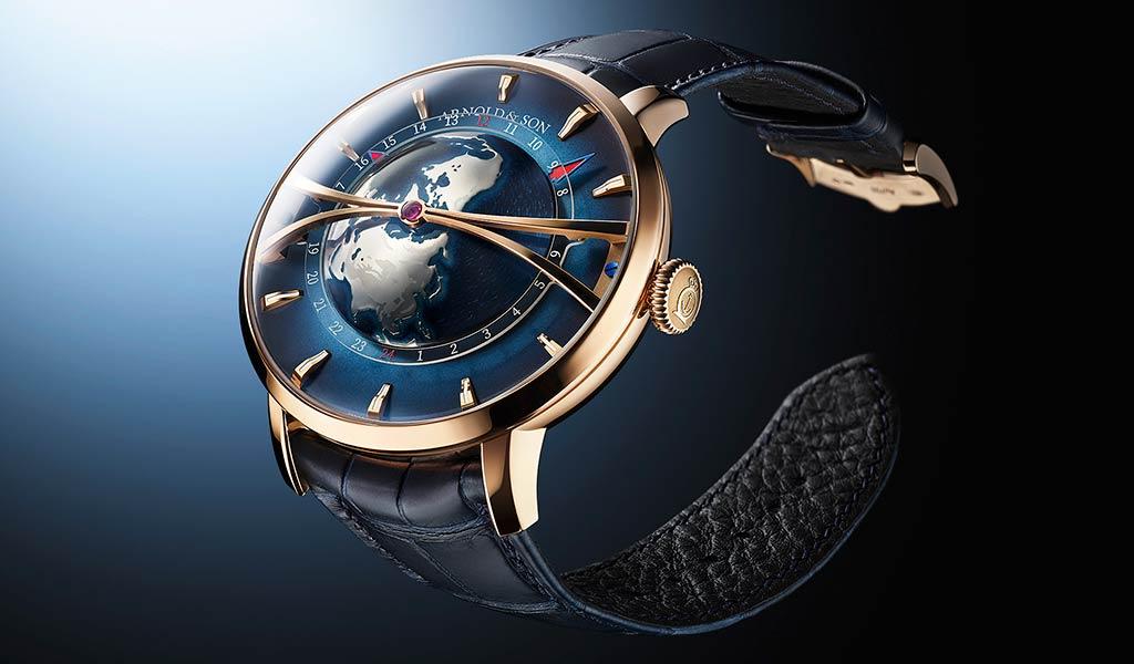 Новые швейцарские часы Arnold & Son