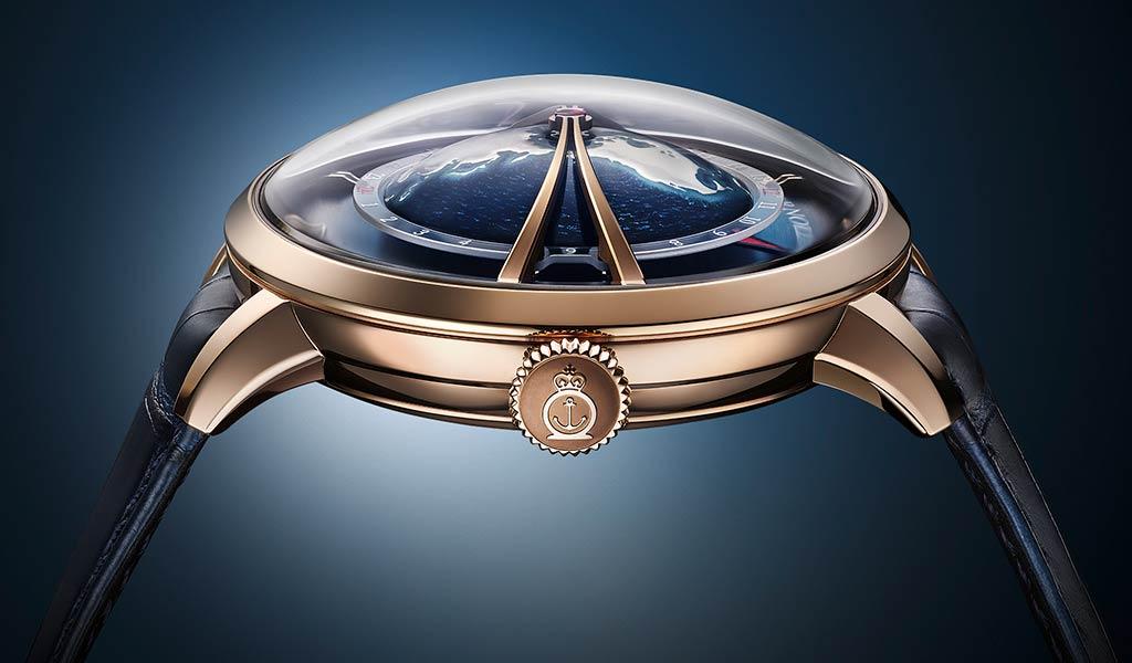 Швейцарские часы мировое время Arnold & Son