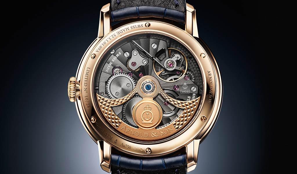 Швейцарские механические часы с мировым временем Globetrotter Gold