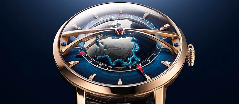 Часы Arnold & Son Globetrotter Gold