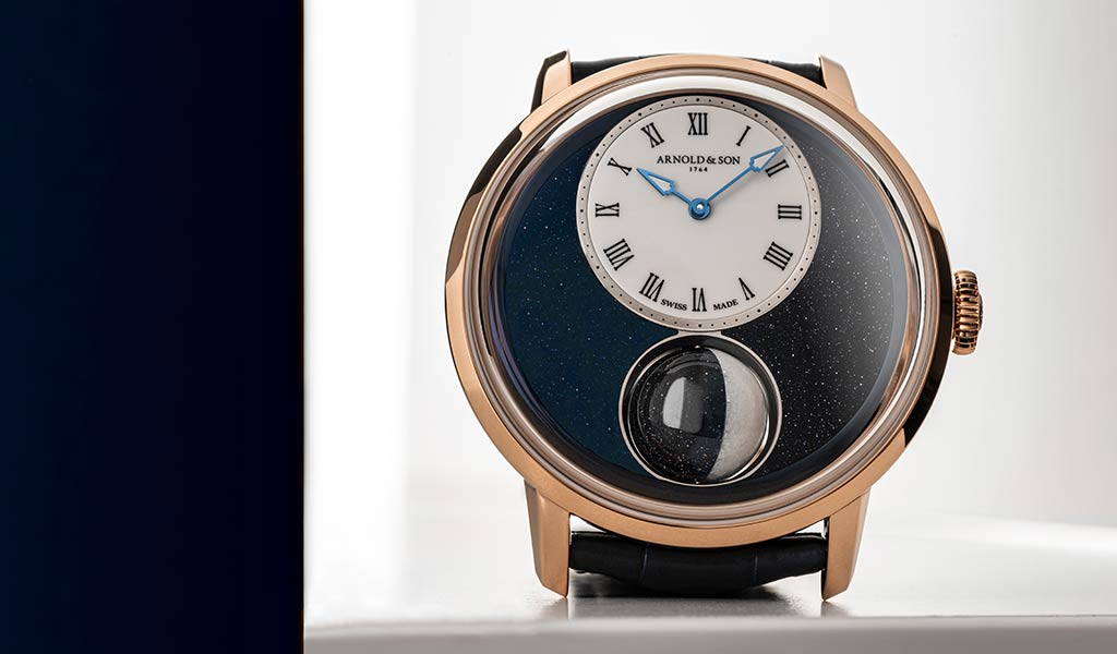 Швейцарские механические часы Arnold & Son