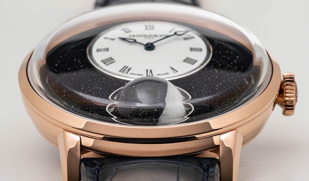 Швейцарские часы с фазами Луны Arnold & Son