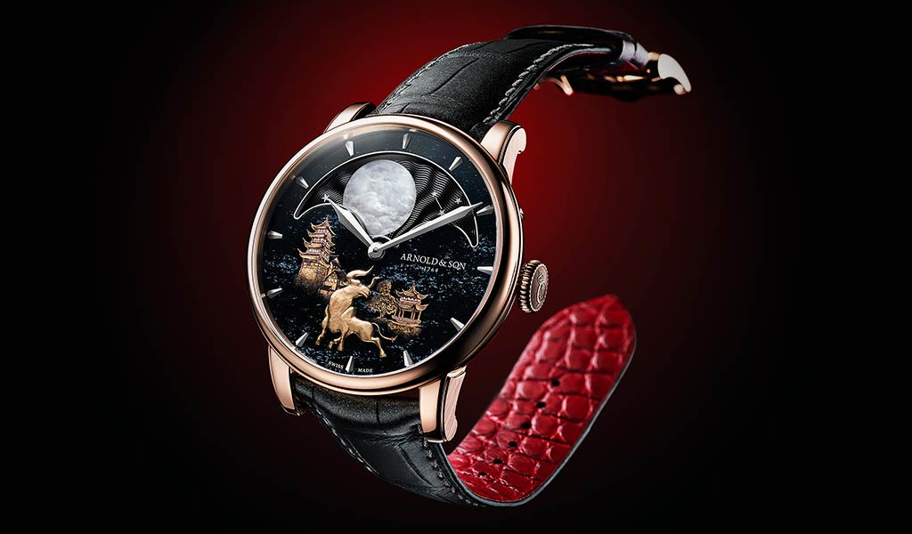 Новые часы Arnold & Son