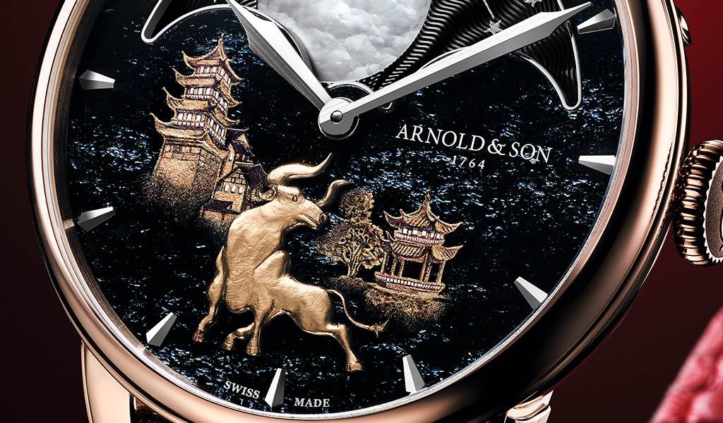 Новые наручные часы Arnold & Son