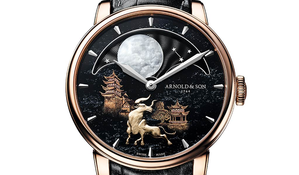 Швейцарские часы Arnold & Son
