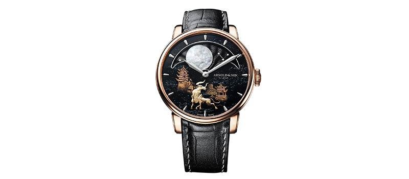 Наручные часы Perpetual Moon «Year of the Ox»