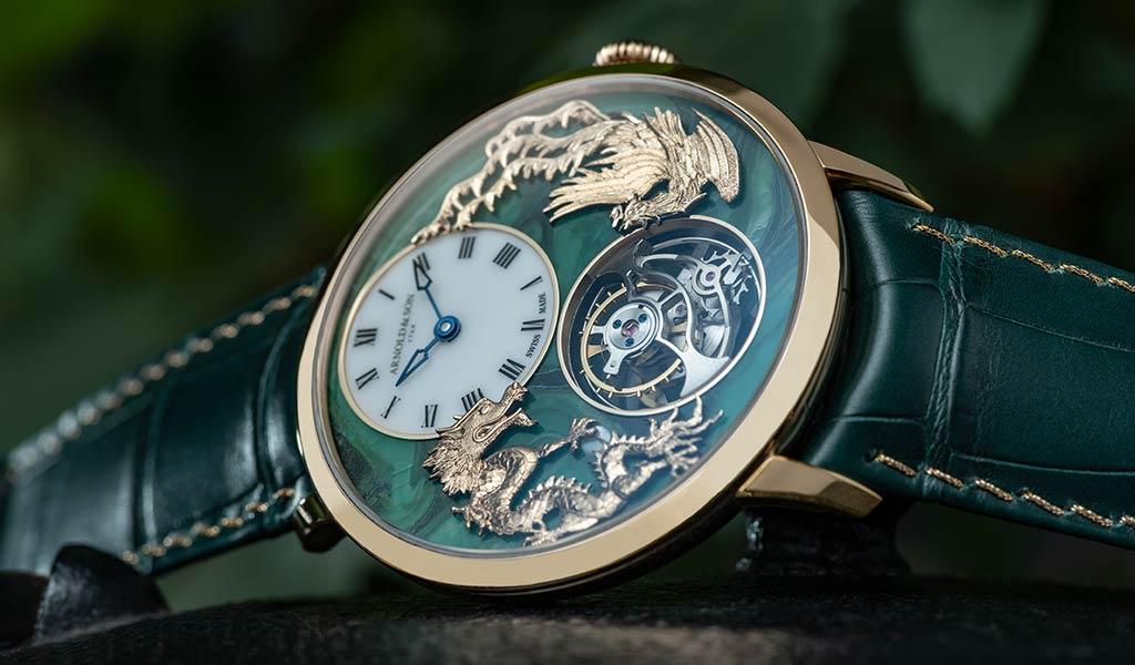Наручные часы Arnold & Son Ultrathin Tourbillon Dragon & Phoenix