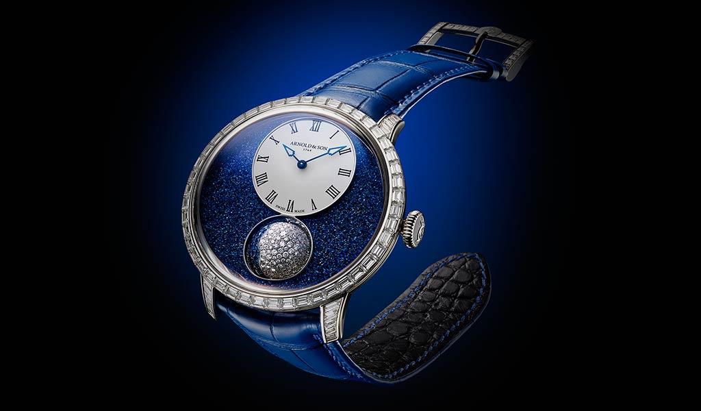 Швейцарские ювелирные часы Arnold & Son
