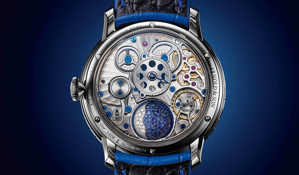 Новые швейцарские наручные часы Arnold & Son