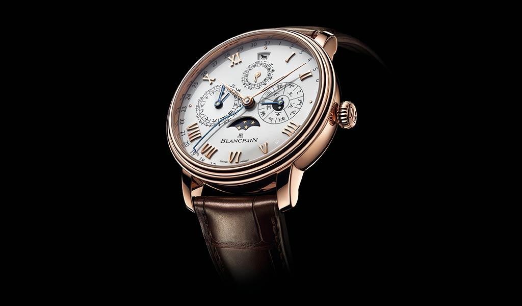 Золотые часы Blancpain