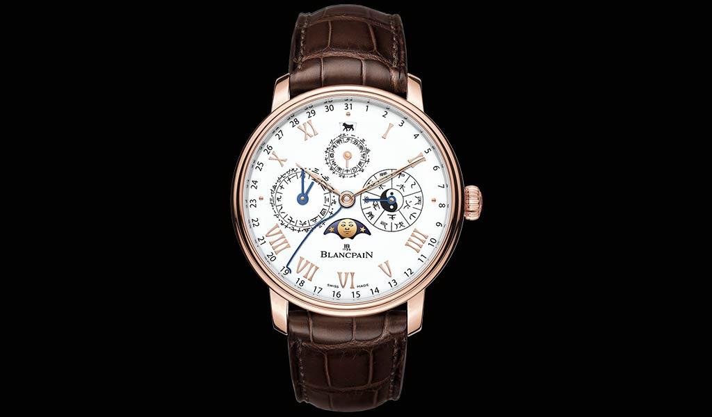 Золотые наручные часы Blancpain