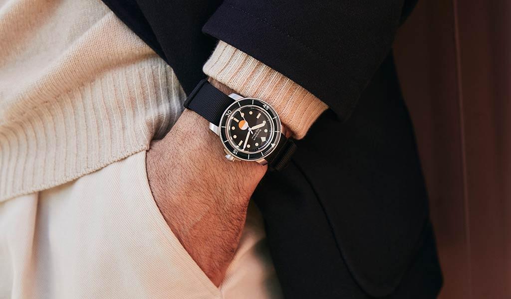 Новые часы для дайвинга Fifty Fathoms MIL-SPEC