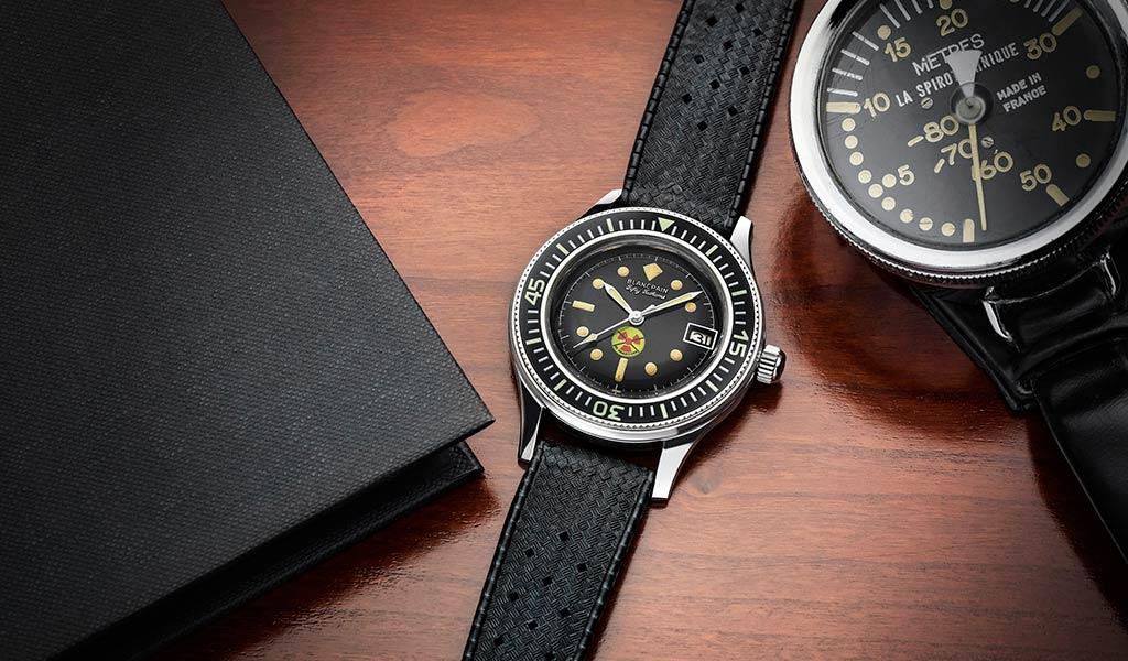Новые часы для дайверов Tribute to Fifty Fathoms No Rad