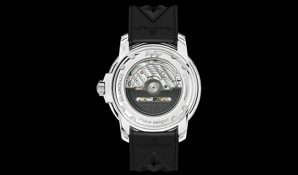 Механические часы Tribute to Fifty Fathoms No Rad для Only Watch
