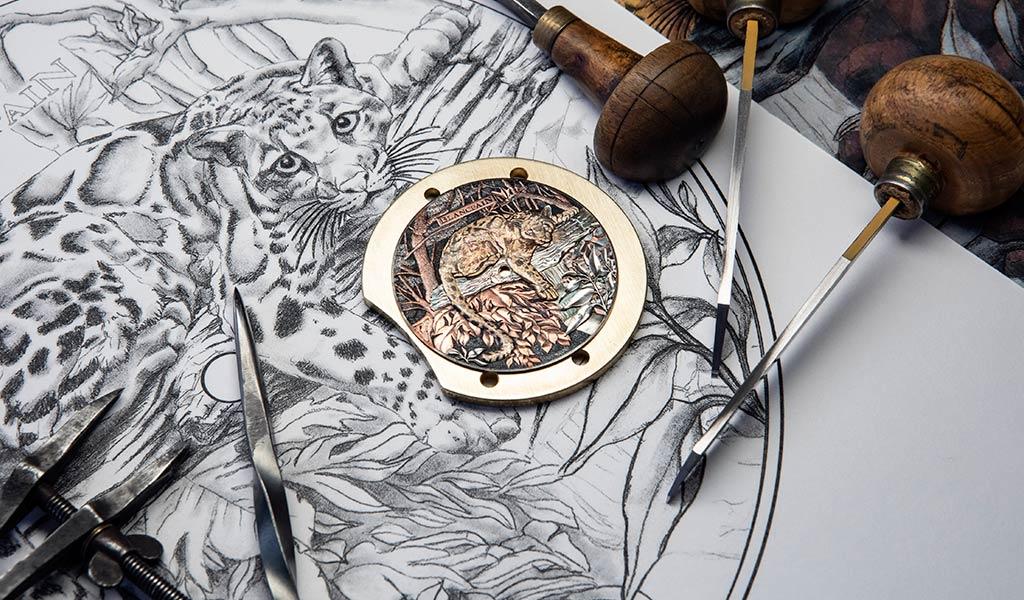 Циферблат механических часов Blancpain