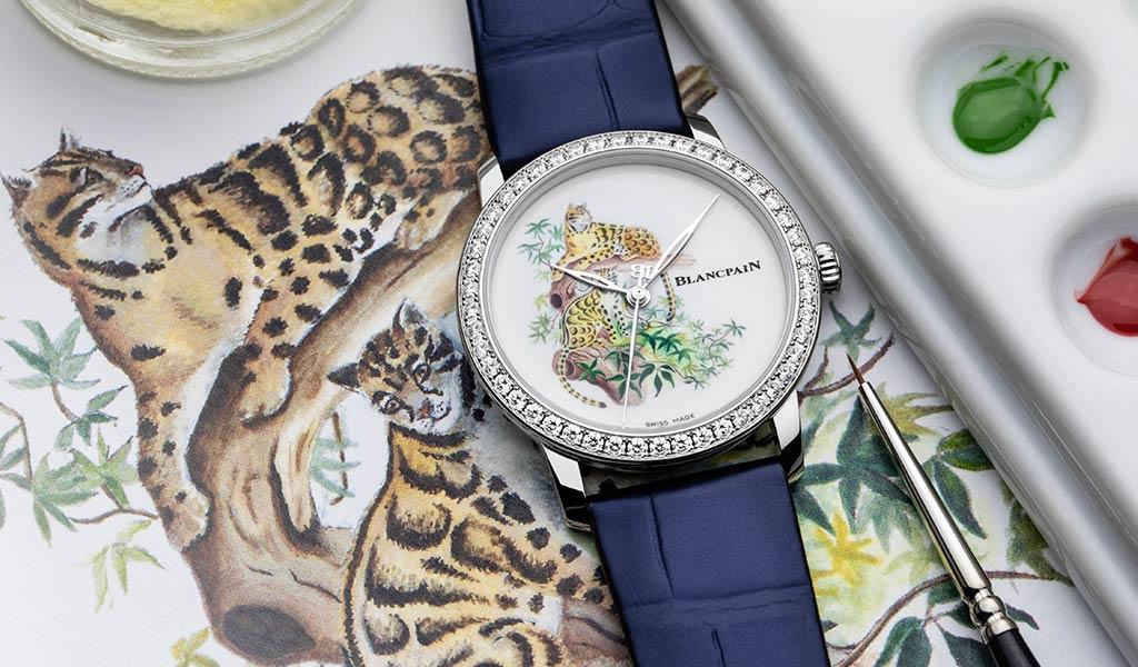 Новые часы Blancpain