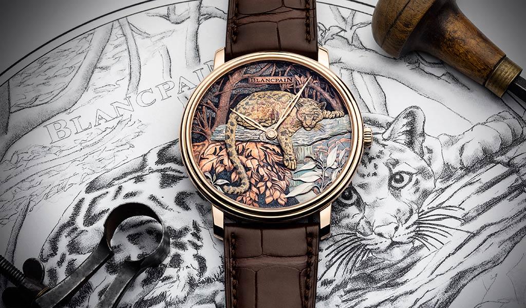 Новые наручные часы Blancpain
