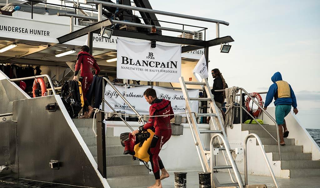 Научная экспедиция в Мексике Oceana и Blancpain