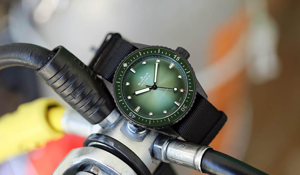 Часы для дайвинга Blancpain