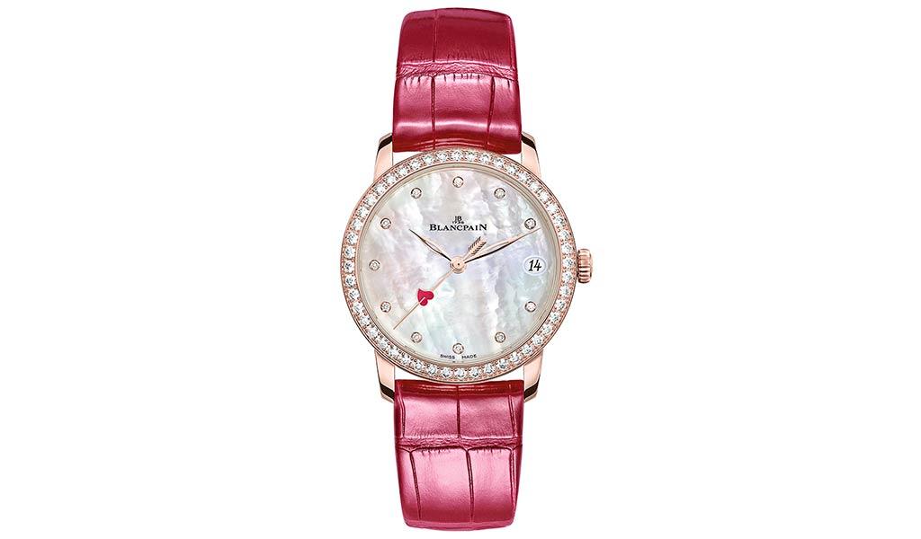 Женские наручные часы Blancpain Villeret Saint-Valentin 2021