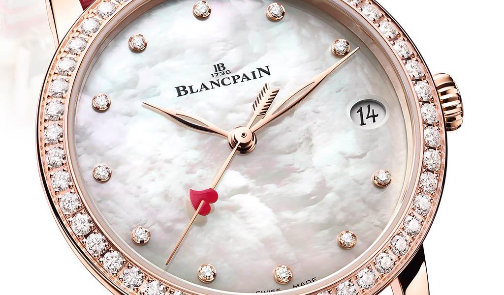 Женские часы Blancpain Villeret Saint-Valentin 2021